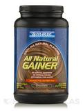 All Natural Gainer - Chocolate - 3.3 lbs (1512 Grams)