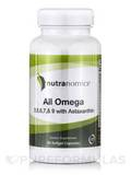 All Omega Fish Oil 60 Softgel Capsules