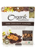 Dark Chocolate Almonds - 8 oz (227 Grams)