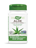 Aloe Leaf & Latex 275 mg - 100 Vegetarian Capsules