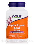 Alpha Lipoic Acid 100 mg - 120 Vegetarian Capsules