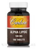 Alpha Lipoic 100 mg 180 Tablets