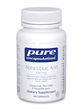 Alpha Lipoic Acid 100 mg 60 Capsules