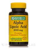 Alpha Lipoic Acid 200 mg 50 Capsules