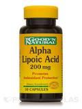 Alpha Lipoic Acid 200 mg - 50 Capsules