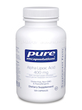 Alpha Lipoic Acid 400 mg - 120 Capsules