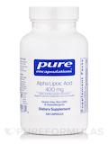 Alpha Lipoic Acid 400 mg 120 Capsules