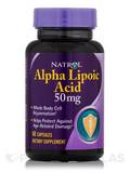 Alpha Lipoic Acid 50 mg 60 Capsules