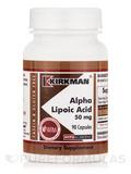 Alpha Lipoic Acid 50 mg -Hypoallergenic 90 Capsules