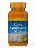 Alpha Lipoic Acid 50 mg 90 Tablets