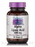 Alpha Lipoic Acid 600 mg - 30 Vegetable Capsules