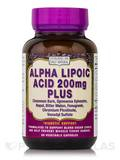 Alpha Lipoic Acid Plus 200 mg 60 Vegetable Capsules