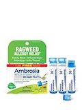 Ambrosia 30C Ragweed Allergy Relief Bonus Care Pack - 3 Tubes (Approx. 80 Pellets Per Tube)