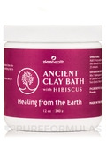 Ancient Clay Bath, Hibiscus - 12 oz (340 Grams)