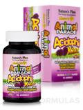 Animal Parade® AcidophiKidz® Children's Chewables, Natural Berry Flavor - 90 Chewable Tablets