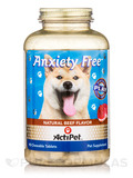 Anxiety Free For Dogs, Natural Beef Flavor - 90 Chewable Tablets