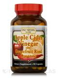 Apple Cider Vinegar Plus Grapefruit Rind, Cayenne 90 Capsules
