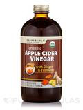 Apple Cider Vinegar with Ginger & Turmeric, Spicy - 16 fl. oz (473 ml)