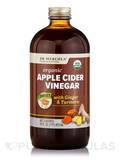 Apple Cider Vinegar with Ginger & Turmeric, Sweet - 16 fl. oz (473 ml)