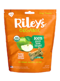 Tasty Organic Apple Baked Biscuits, Large Bone - 5 oz (142 Grams)