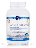Arctic Cod Liver Oil 1000 mg, Lemon Flavor - 180 Soft Gels