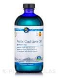Arctic Cod Liver Oil, Orange Flavor - 16 fl. oz (473 ml)