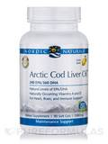Arctic Cod Liver Oil - Lemon 1000 mg 90 Soft Gels