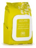 Unscented Argan Oil Cleansing Towelettes for Face & Body - 30 Count