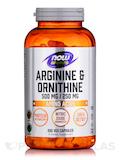 Arginine & Ornithine 500/250 - 250 Capsules