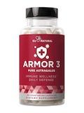 Armor 3 - Pure Astragalus - 60 Vegetarian Capsules