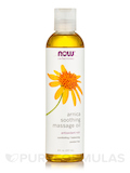 NOW® Solutions - Arnica Warming Relief Massage Oil - 8 fl. oz (237 ml)
