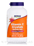 Vitamin C Crystals (Ascorbic Acid ) 1 lb (454 Grams)