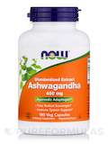Ashwagandha 450 mg - 180 Veg Capsules