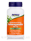 Ashwagandha 450 mg 90 Vegetarian Capsules