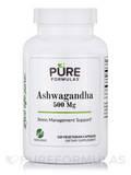 Ashwagandha 500 mg - 120 Vegetarian Capsules