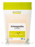 Organic Ashwagandha Root Powder 1 Lb (454 Grams)