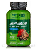 Ashwagandha with Black Pepper Extract - 120 Vegetarian Capsules