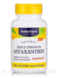 Astaxanthin 12 mg (Triple Strength) - 60 Softgels