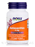 Astaxanthin 4 mg - 60 Vegetarian Softgels