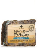 Authentic African Black Soap Bar, Unscented - 3 oz (85 Grams)