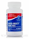 Aved-Multi Iron Free 60 Tablets