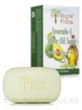Avocado & Olive Oil Soap Bar - 5 oz (141 Grams)
