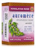Ayurvedic Himalayan-Rose Soap - 2.75 oz (78 Grams)