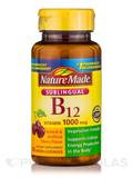 Sublingual Vitamin B12 1000 mcg, Cherry Flavor - 50 Micro-Lozenges
