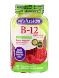 B-12 1000 mcg, Natural Raspberry Flavor - 140 Gummies