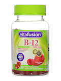 B-12 1000 mcg, Natural Raspberry Flavor - 60 Gummies
