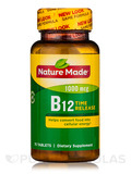 B-12 1000 mcg Timed Release 75 Tablets