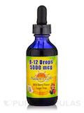 B-12 Drops 5000 mcg, Wild Berry Flavor - 2 fl. oz (60 ml)
