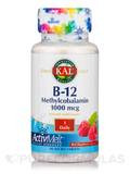 B-12 Methylcobalamin ActivMelt™ 1000 mcg, Natural Raspberry Flavor - 90 Micro Tablets