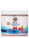 B-12 Methylcobalamin ActivMix™ 5000 mcg Instant Powder, Natural Raspberry Flavor - 9 oz (256 Grams)